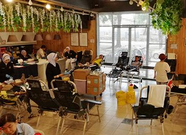 复活节传爱捐血运动筹获88包血液